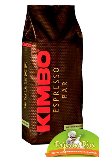 Кофе Kimbo Espresso Bar Superior Blend в зернах 1000г