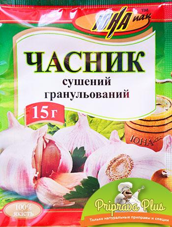 Чеснок сушёный гранулированный «Юна»