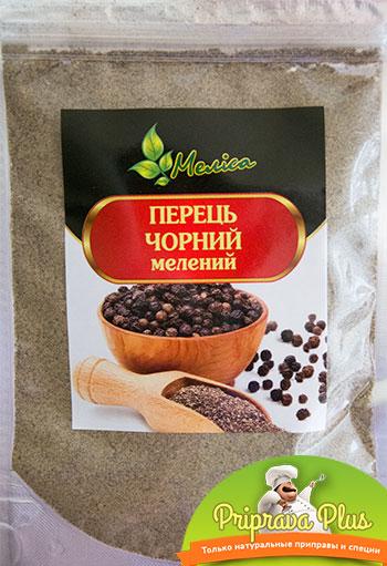 Перец черный молотый «Мелиса» 80 г