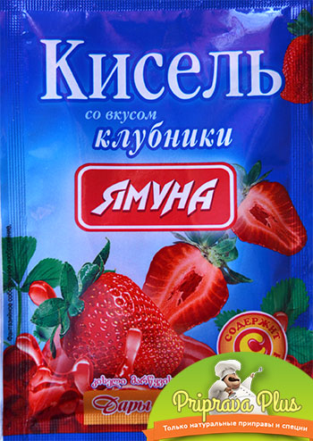 Кисель со вкусом клубники «Ямуна»