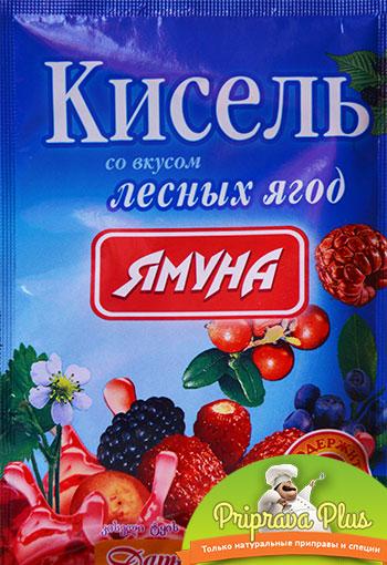 Кисель со вкусом лесных ягод «Ямуна»
