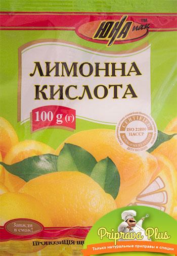 Лимонная кислота «Юна» 100г