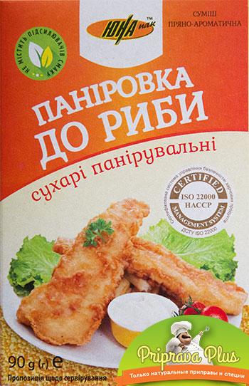 Сухари панировочные к рыбе со специями «Юна» 90 г