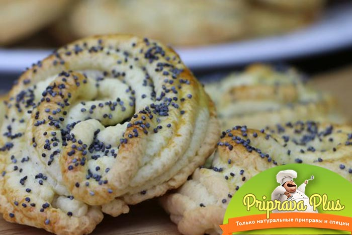 Оригинальное печенье «Маковые розочки» пошаговый рецепт с фото