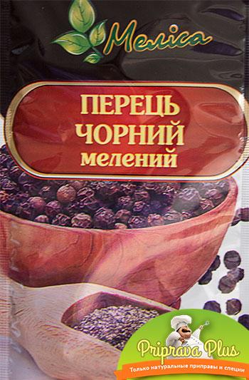 Перец черный молотый «Мелиса» 20 г