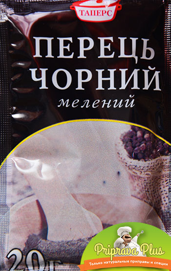 Перец черный молотый «Таперс»