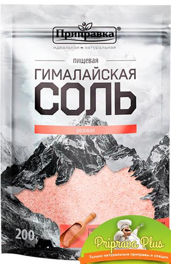 Гималайская розовая соль 200 г