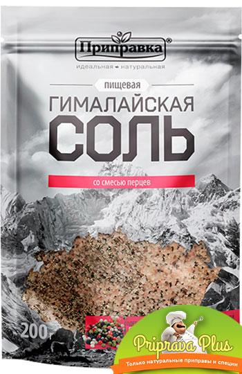 Гималайская соль со смесью перцев 200 г