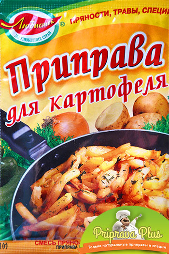 Приправа для картофеля «Любисток» 30 г
