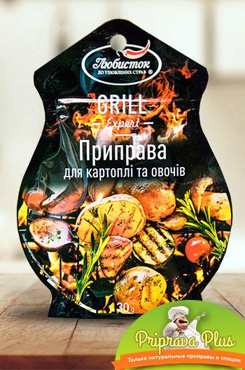 Приправа для картофеля и овощей «Любисток» 30 г
