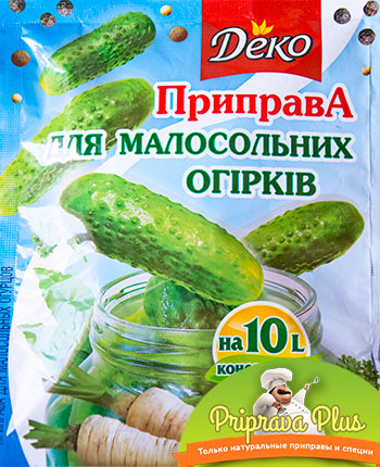 Приправа для малосольных огурцов «Деко» 30 г
