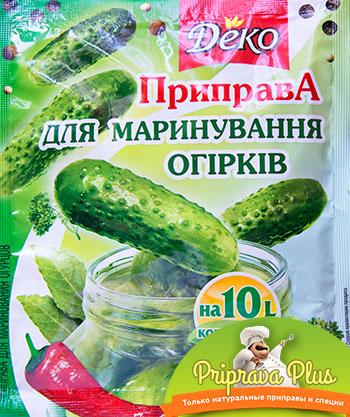 Приправа для маринования огурцов «Деко» 30 г