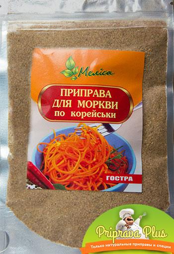 Приправа для моркови по-корейски «Мелиса»