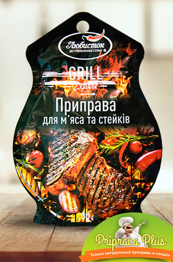 Приправа для мяса и стейков «Любисток» 30 г