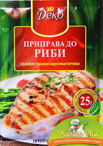 Приправа для рыбы «Деко»