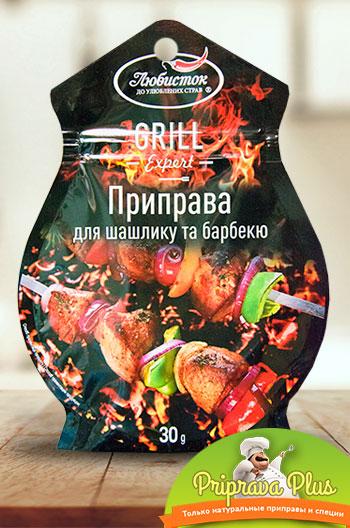 Приправа для шашлыка и барбекю «Любисток» 30 г