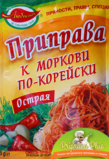 Приправа к моркови по-корейски (острая) «Любисток