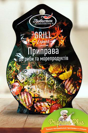 Приправа к рыбе и морепродуктам «Любисток» 30 г