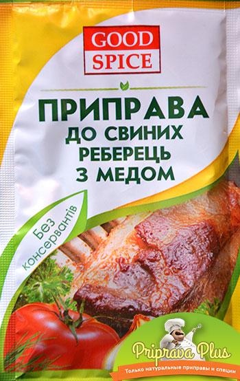Приправа для свиных ребрышек с медом «Good Spice»