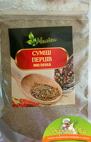 Смесь перцев молотая «Мелиса» 90 г