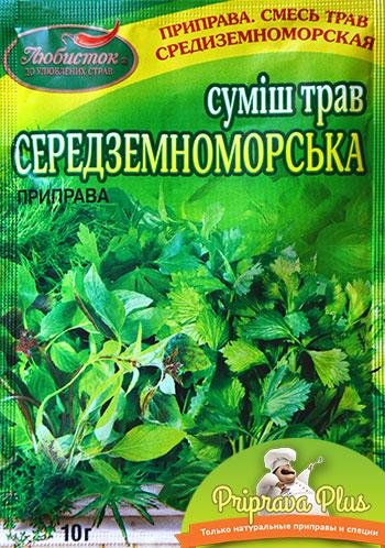 Смесь трав «Средиземноморская» «Любисток»