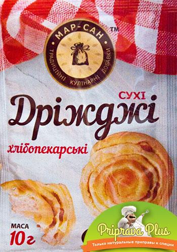 Дрожжи сухие хлебопекарские «Мар-Сан» 10 г