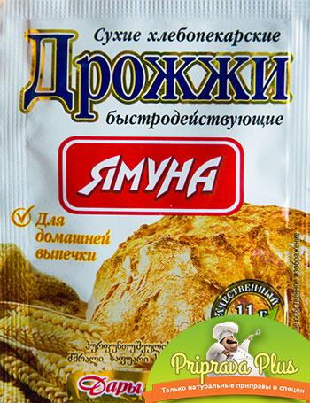 Дрожжи хлебопекарские «Ямуна» 11 г