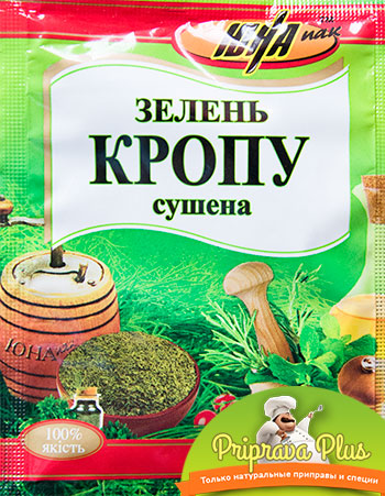 Зелень укропа сушёная «Юна» 8 г