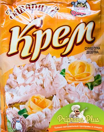 Заварной крем со сливочным вкусом «Добрик» 80 г