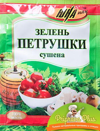 Зелень петрушки сушёная «Юна» 8 г