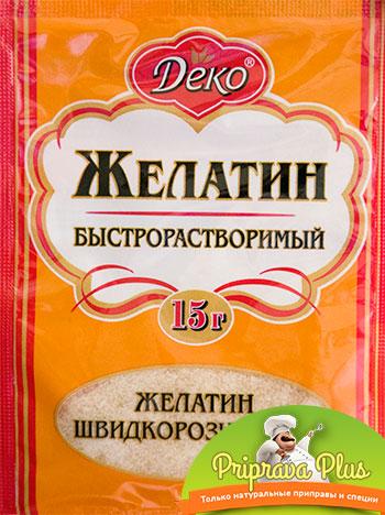 Желатин быстрорастворимый «Деко» 15 г