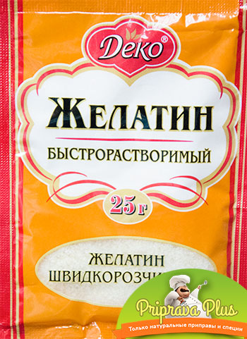 Желатин быстрорастворимый «Деко» 25 г