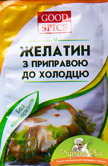 Желатин с приправой для холодца «Good Spice»